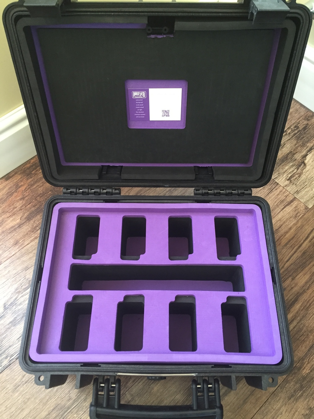 Panzer Case Inspire 1 Drone TB-Series Battery Case.