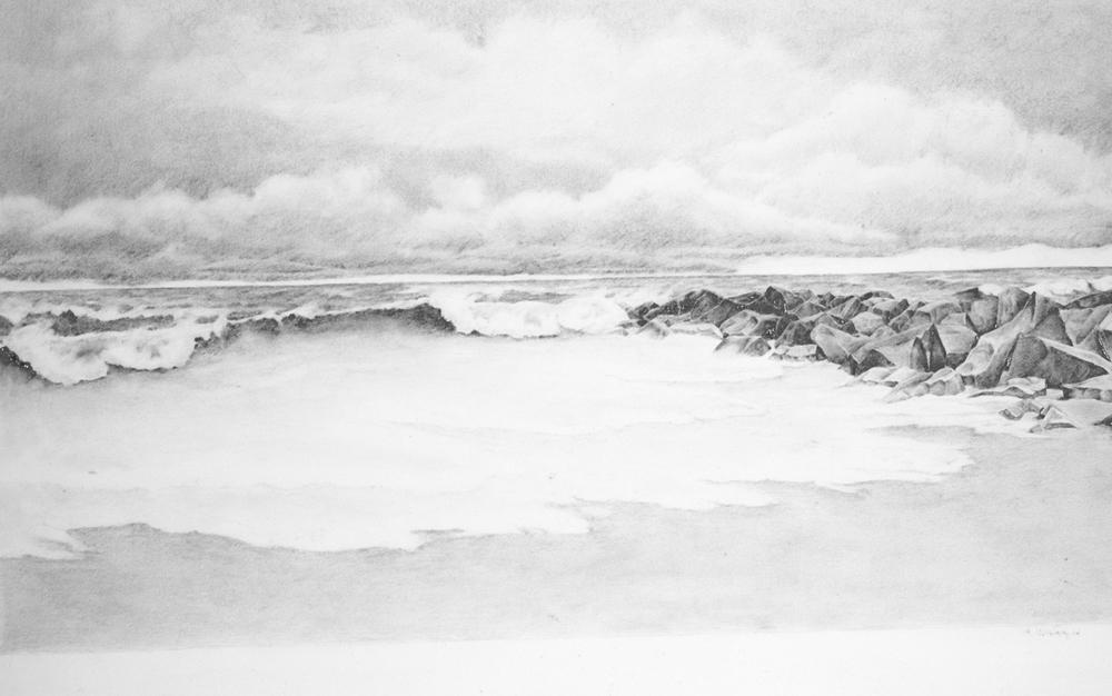 "Vilano Beach, 15.5"" x 27.75"""