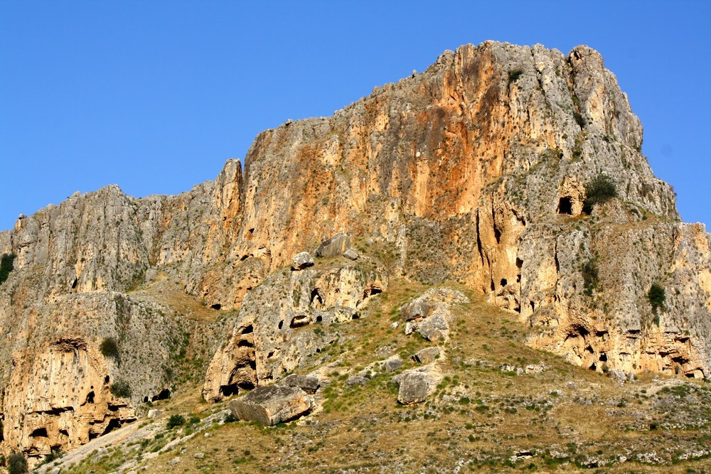 'Mount Arbel' - the side we climbed. (not my picture)
