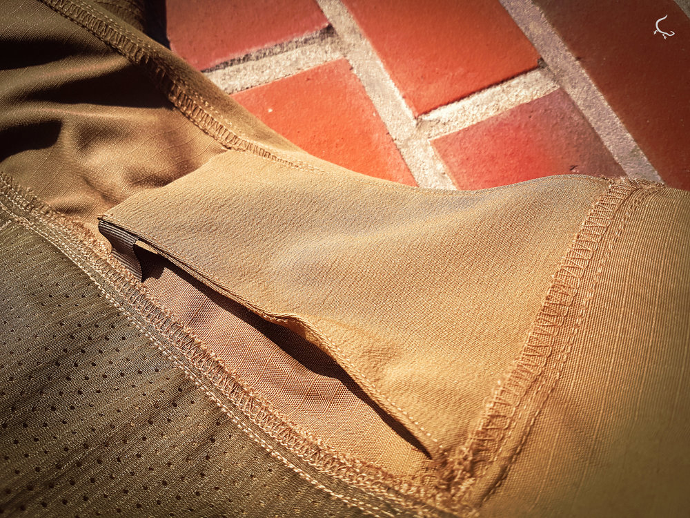 "The ""special"" pocket without an Israeli bandage."