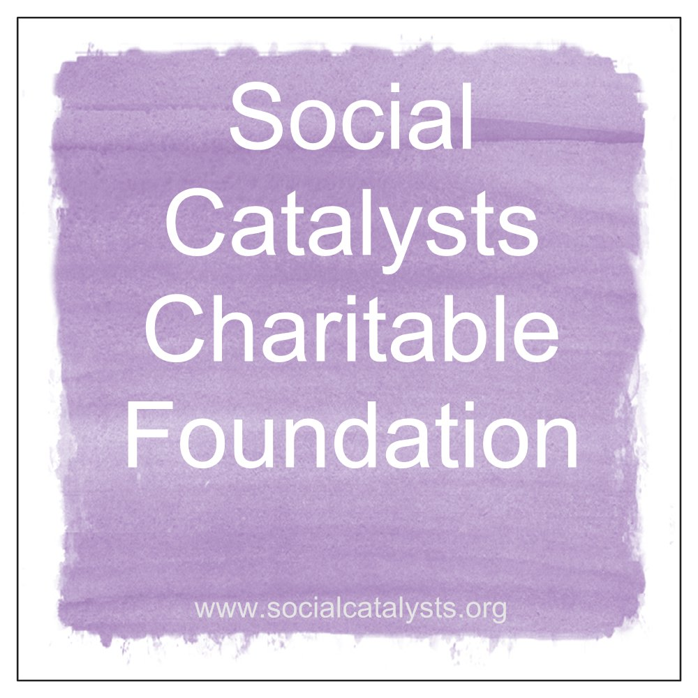 Social Catalysts Charitable Foundation, a non-profit 501(c)(3) organization, is a novel social enterprise that supports social and environmental change while improving the lives of people with disabilities. Our first major initiative is to create employment opportunities for adults with disabilities while improving our environment by producing new products from recycled videotapes. We provide social service agencies with the tools and the training for their clients with disabilities. These clients weave a beautiful cloth out of reclaimed videotapes, which is sewn into totes, handbags and other items by professional seamstresses, then is marketed and sold by Social Catalysts. In the process, we're making productive use of the miles of videotape that are migrating to our landfills.