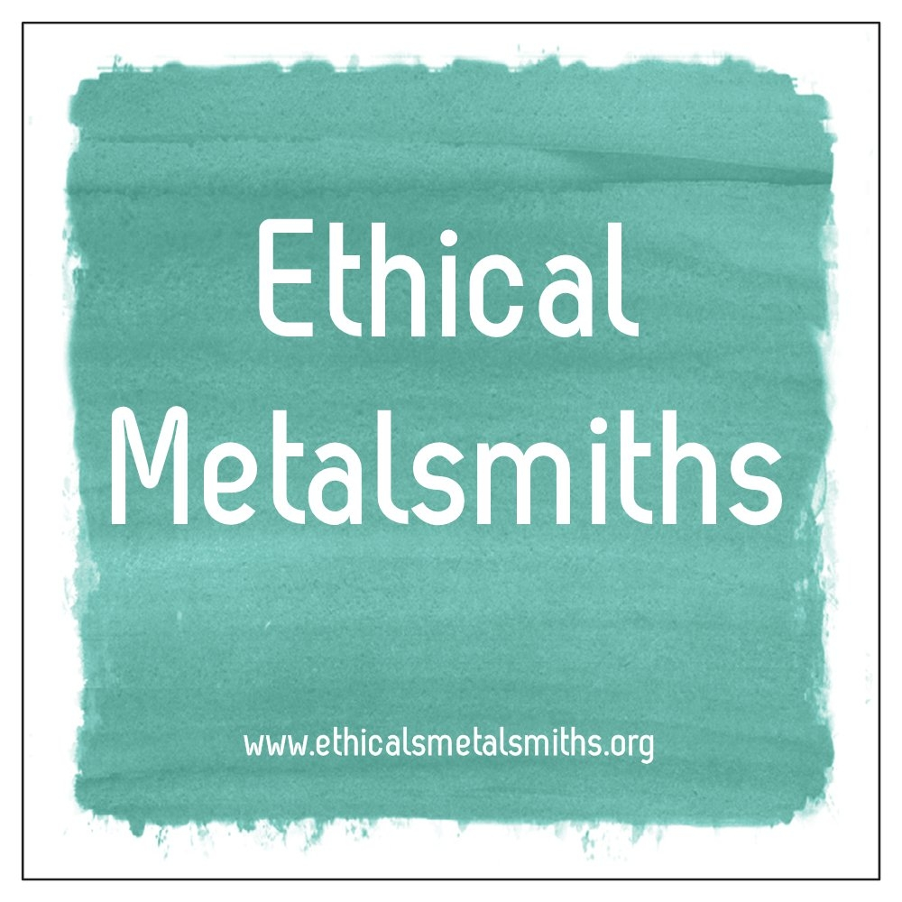 Ethical Metalsmiths' approach is to raise awareness and activate people who make jewelry to support real change that leads to responsible mining and supply chain transparency. Ethical Metalsmiths is committed to leading jewelers and consumers in becoming informed activists for responsible mining, sustainable economic development and verified, ethical sources for gold, diamonds and other materials used for jewelry. Ethical Metalsmiths' vision is a world in which people can create and enjoy jewelry made with materials from responsible sources that respect and protect the earth, its peoples, and cultures.