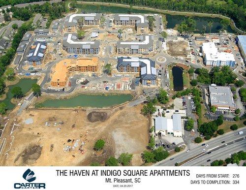 The Haven At Indigo Square In Progress Carter Carter Construction