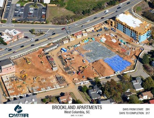 brookland in progress carter carter construction