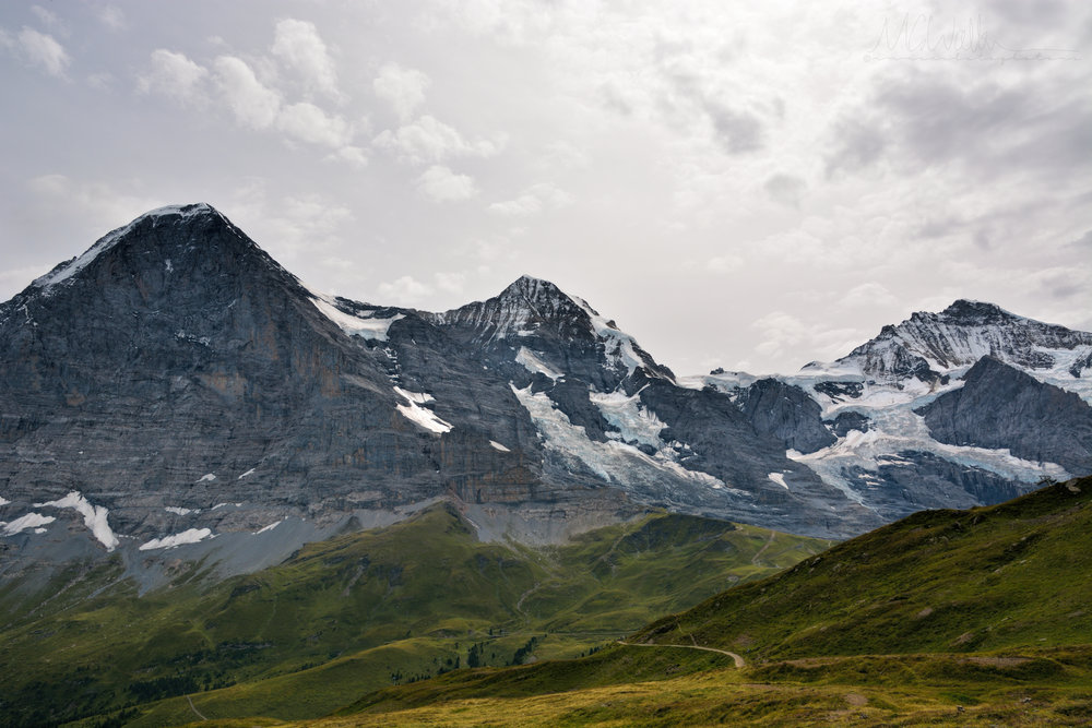The Eiger, The Monk and the Virgin