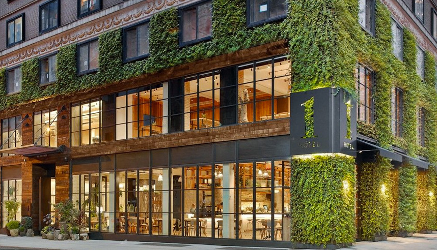 1 Hotel New York is just one of 16 hotels in the city who have committed to sustainability
