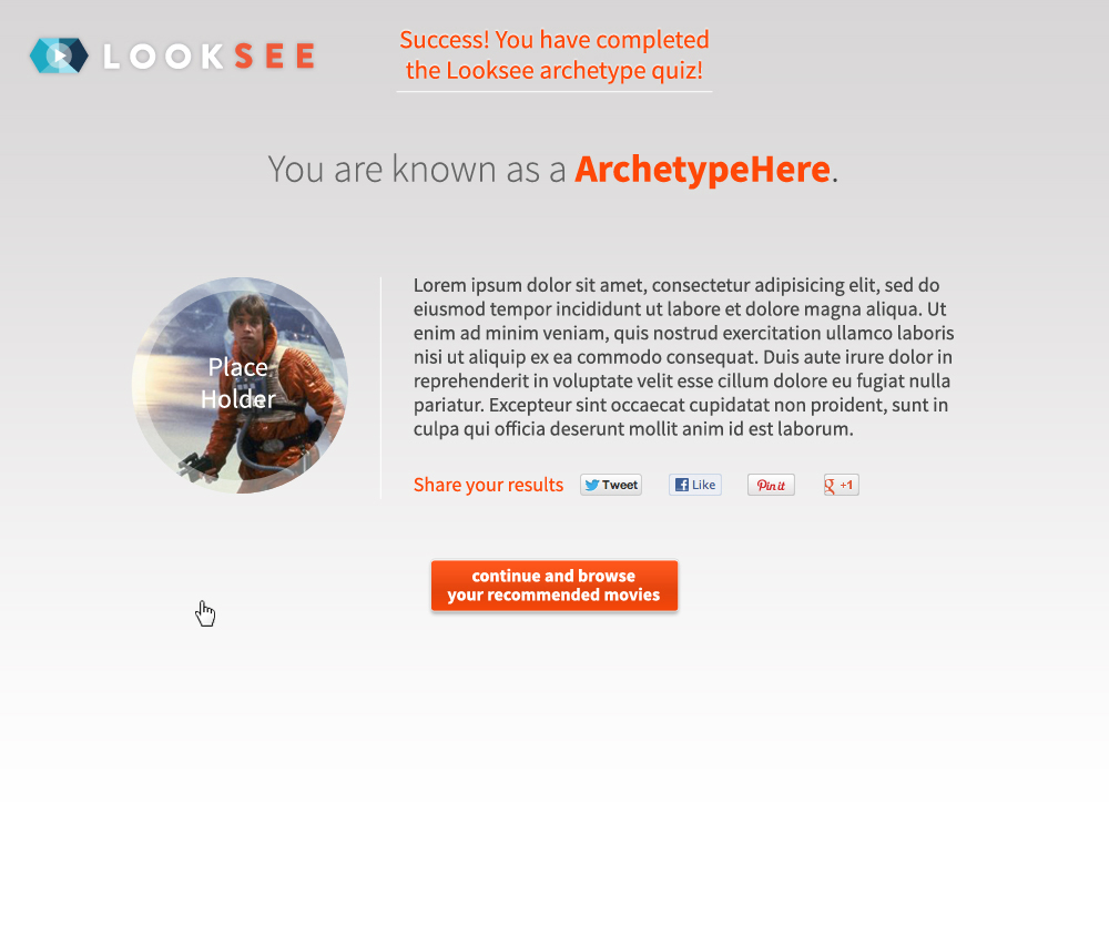 Quiz Results - Archetype
