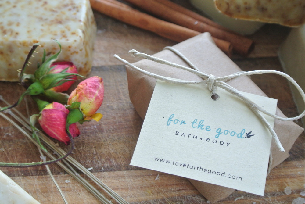 Natural, handcrafted bath and body products