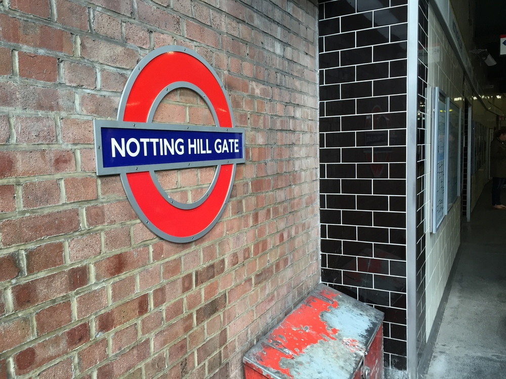 Brief stop in Notting Hill...