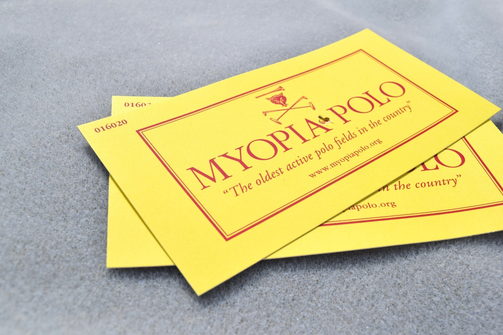 Yes, Myopia Polo is the real name of the place, and yes, it was  named after nearsightedness .
