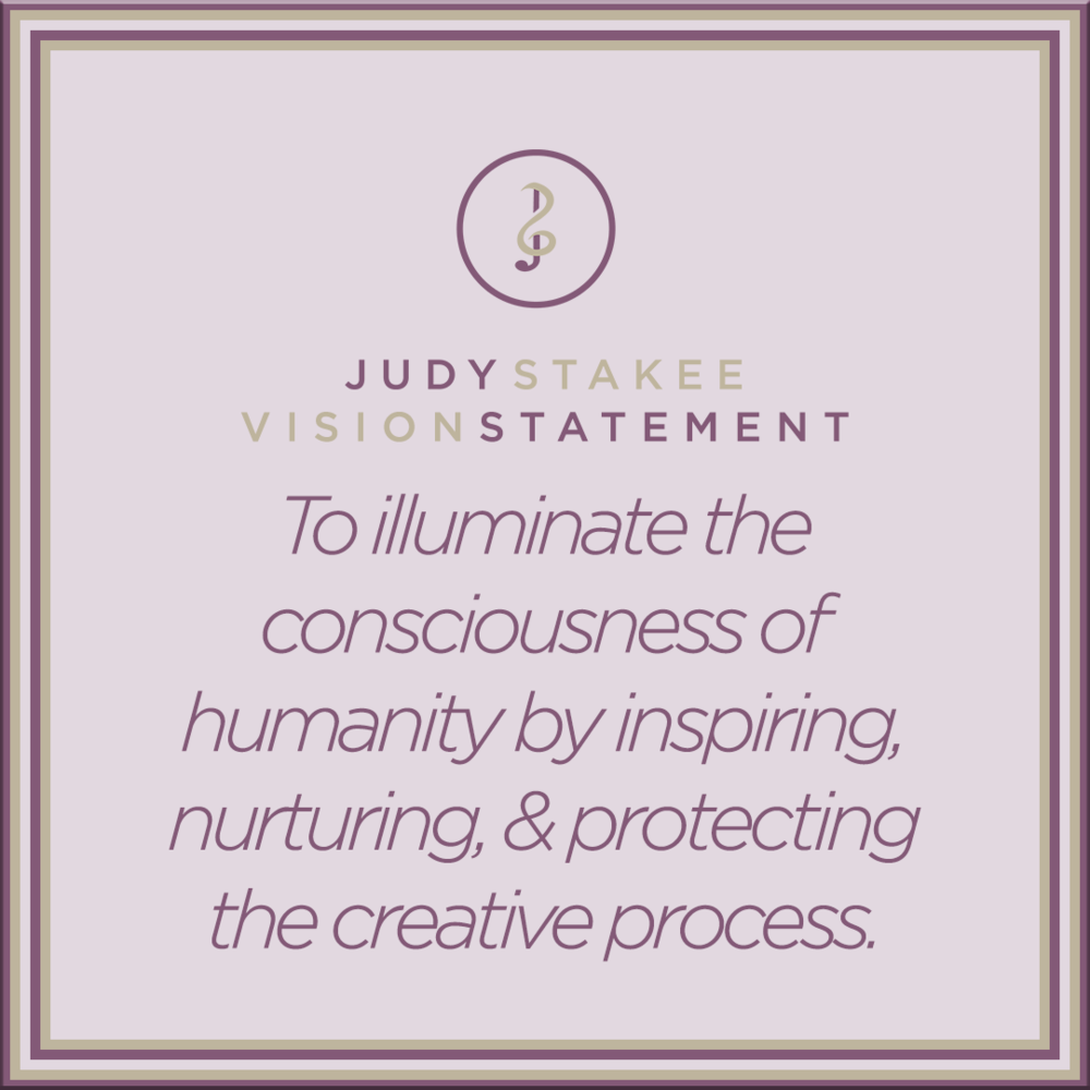 To illuminate the consciousness of humanity by inspiring, nurturing, & protecting the creative process.