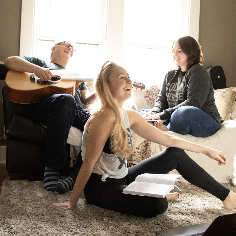Laughing Songwriters at Retreat