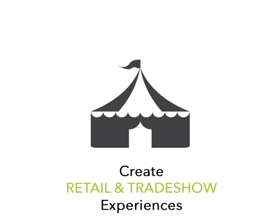 Visit our retail and tradeshow portolfio