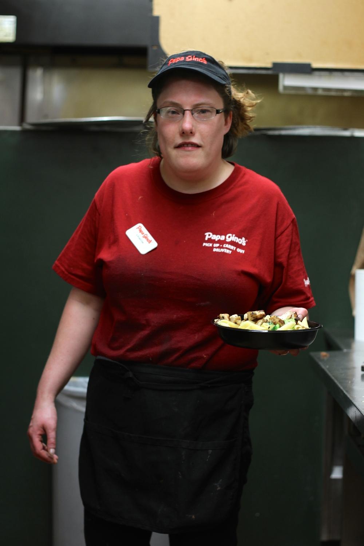 Cheri, a co-worker.