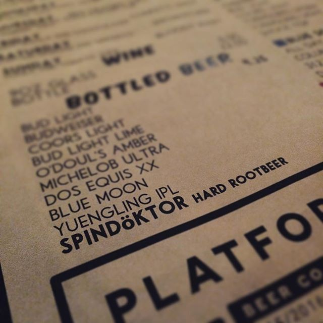 The lifts are spinning and so are the drinks!  #spindoktor Hard Root Beers are ice cold and ready to warm you up after an evening on the slopes @bmbw #winterwarmer #skiseason #ohio #craftbeer #drinklocal