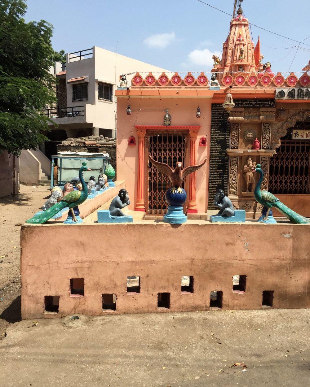 A local temple in Bhuj