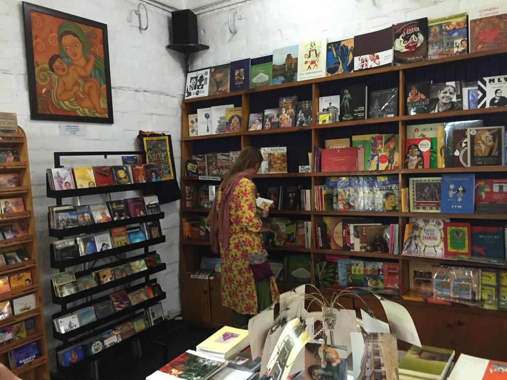 Music and books in the gift shop