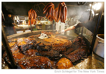 counting down to #SXSW… jonesin' for BBQ   here are some of my Austin favorites ::     ·            Lamberts BBQ**      ·            Franklin BBQ*      ·            Rudy's      ·            Lockhart      ·            Stubbs      ·            Salt Lick****      ·            Iron Works      ·            County Line