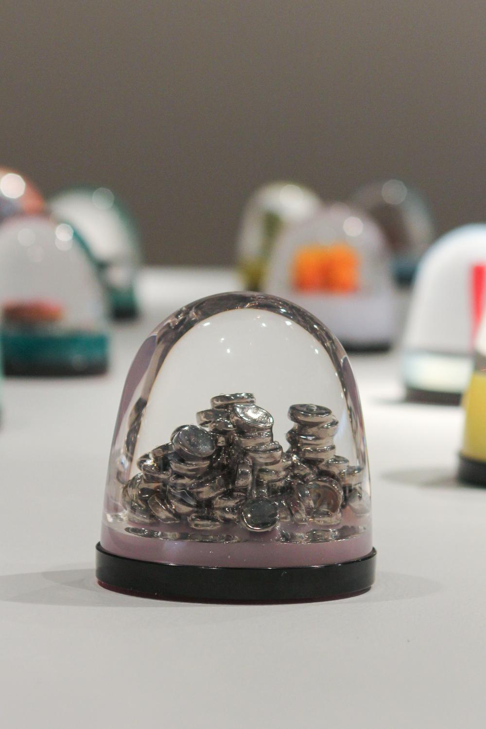 """Pile-O-Coins Globe"""