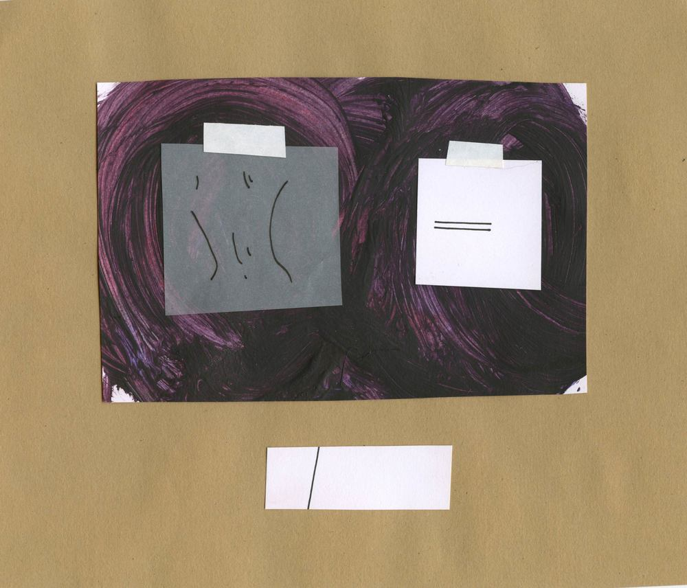 Untitled Self- Portrait (Purple), 2012