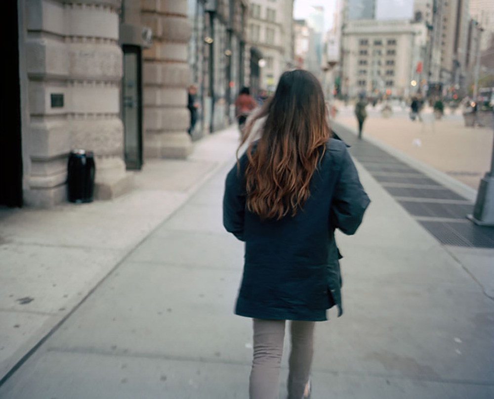 Sophia near the flatiron, 2010