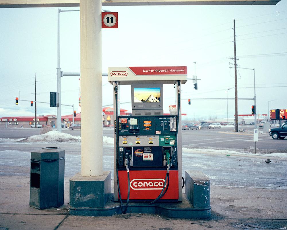 Gas Station, Montana, 2014