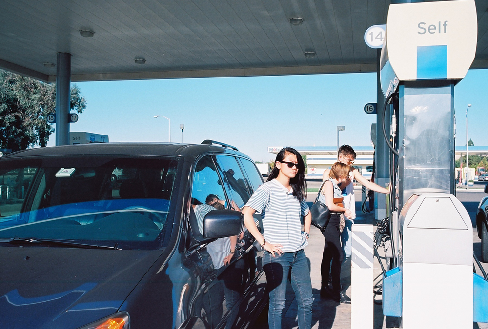 Betty at Chevron, 2011