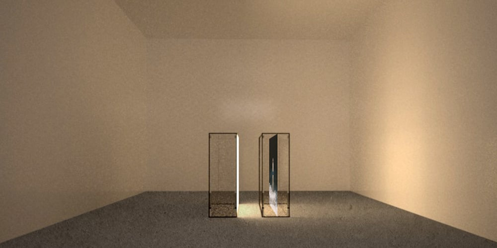 Reverse Venus (installation rendering 3)