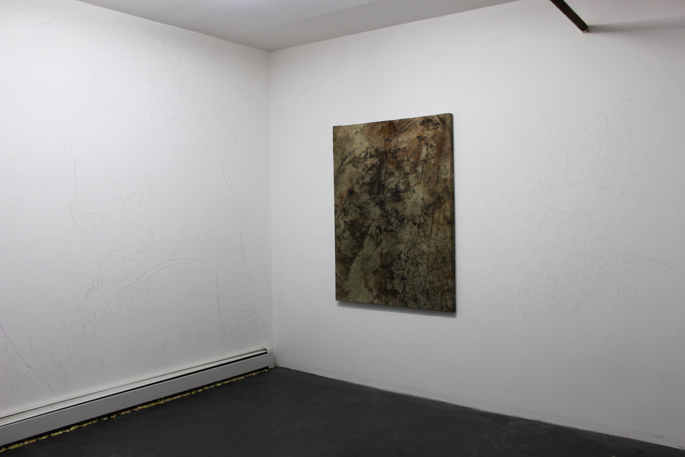 "Installation View of ""A Cultivated Life"" Two person show with Jordan Strafer"