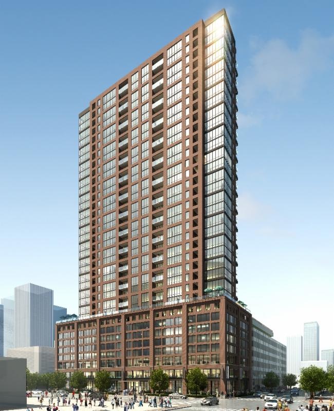 167 W. Erie 39 stories, 442 Rental Units