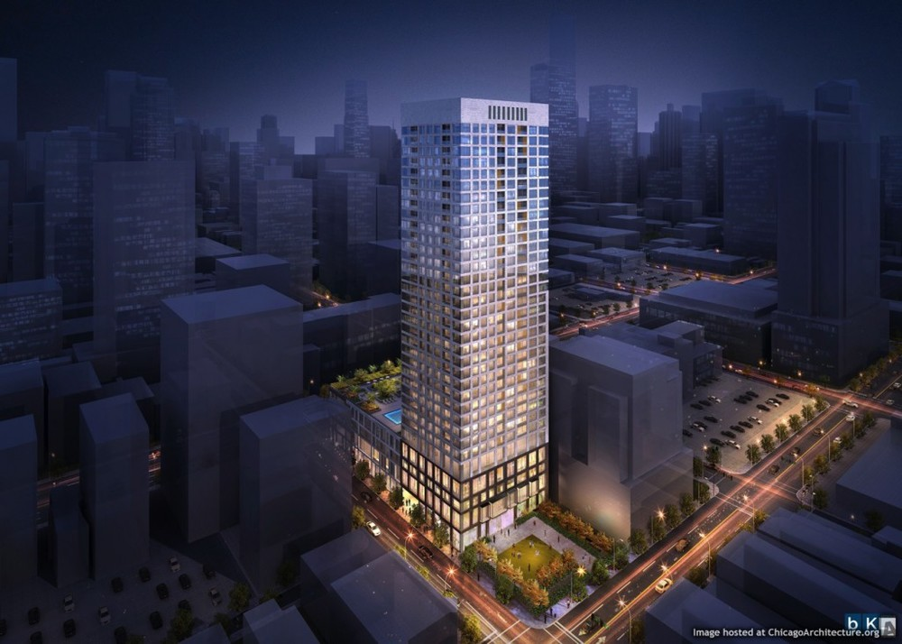 720 N. LaSalle 38 stories, 298 Rental Units