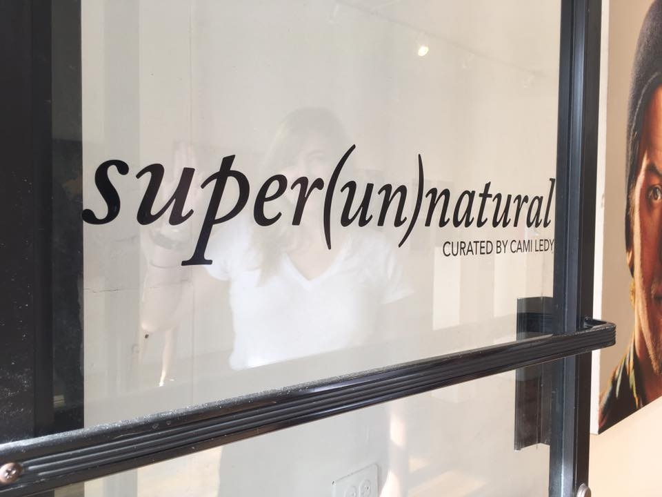 super(un)natural, a group show curated and produced by Cami Ledy at 287 Bleecker Street (just east of 7th Avenue in Manhattan's West Village)
