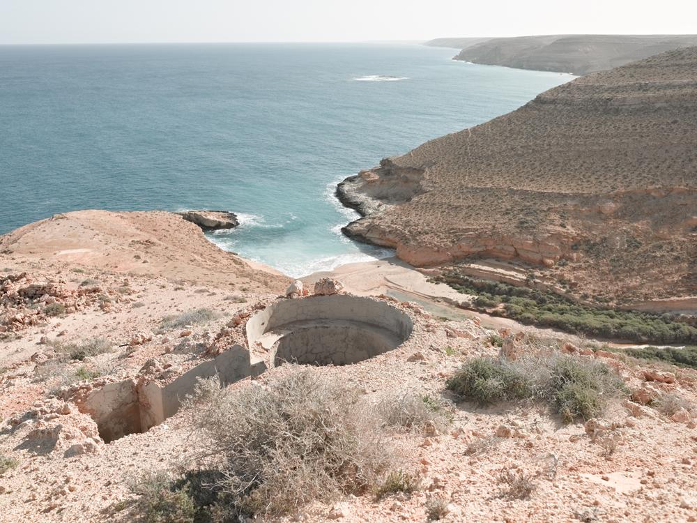 Bunker Z101 Overlooking Mersa Zitoune, Wadi Zitoune Battlefield, Tobruk Perimeter, Libya
