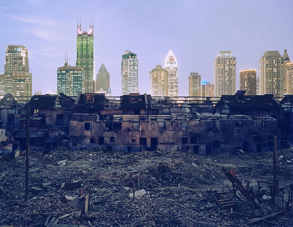 Shanghai Falling (Fuxing Lu Demolition) ©2002Greg Girard