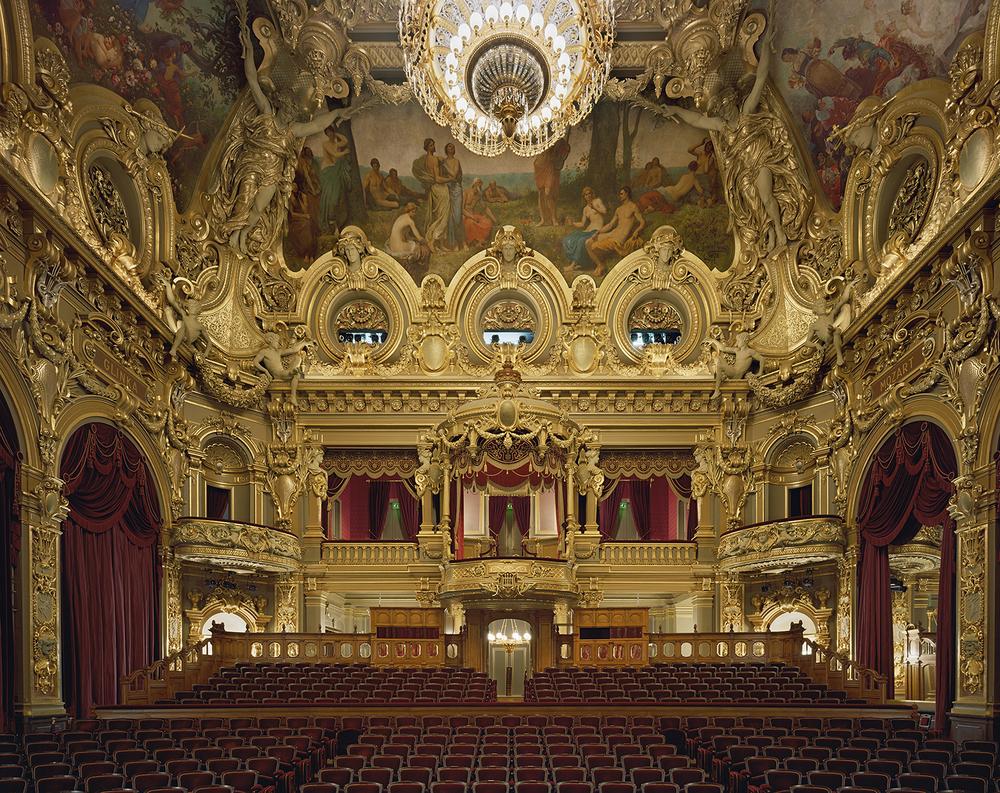 Opéra de Monte-Carlo, Monte Carlo, Monaco,2009. ©David Leventi