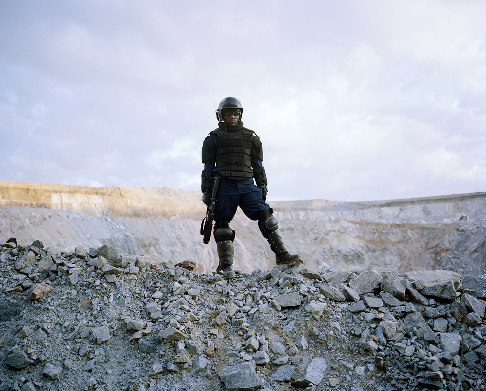 Untitled # IV, Mine Security, North Mara Mine, Tanzania 2011 ©David Chancellor—kiosk