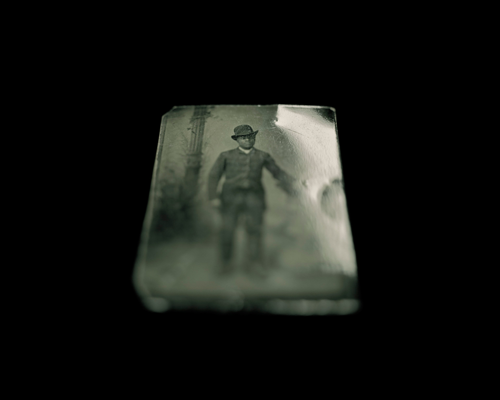 Tintype, Fenton History Center. Jamestown, New York. © Wendel White