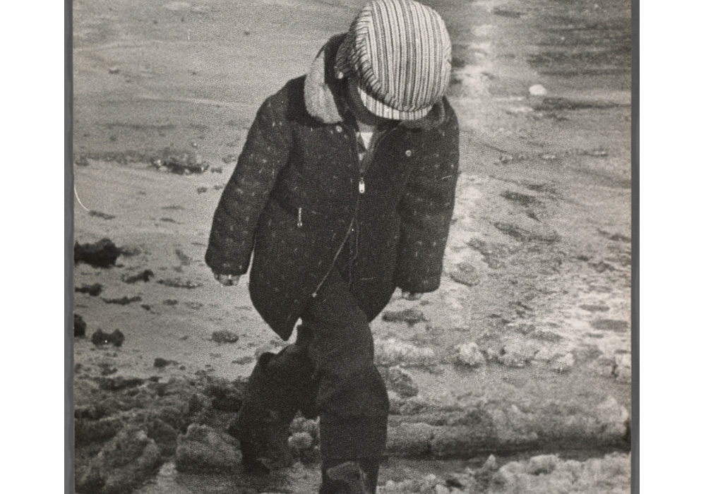 Child In Snow. Photographer: Walter Silver