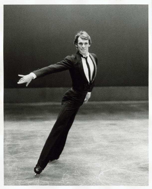 John Curry in Ice Dancing. Photographer: Kenn Duncan