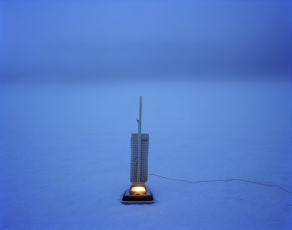 Vacuum on a Frozen Lake, 2005. © Adam Ekberg