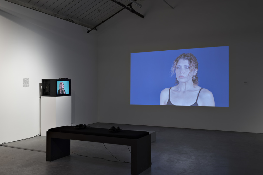 Installation view from Poppy Coles' thesis exhibition