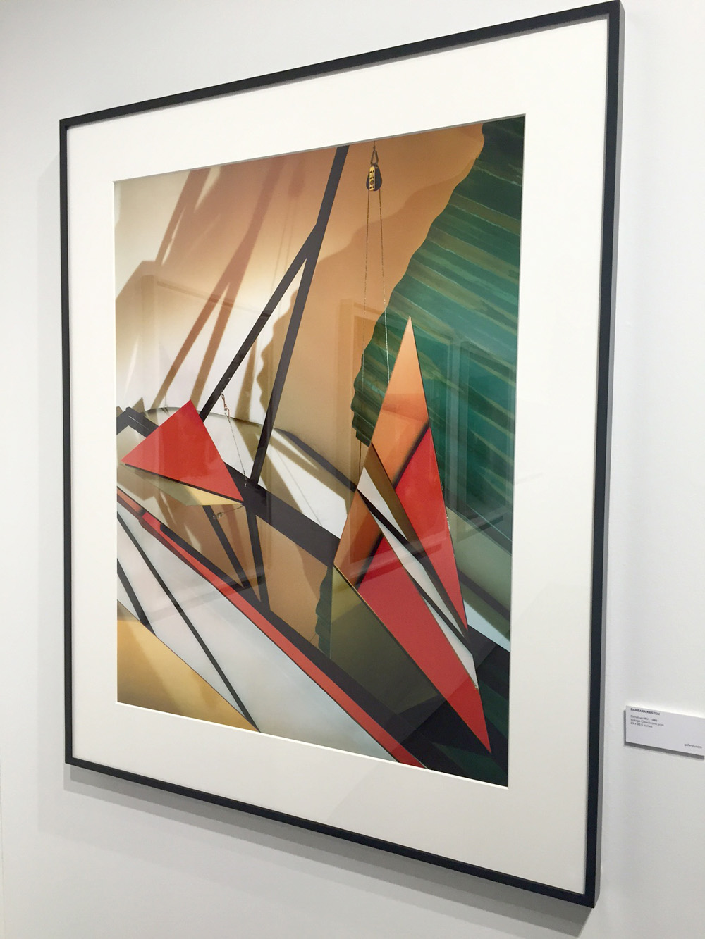 Construct XIV, 1981,Barbara Kasten