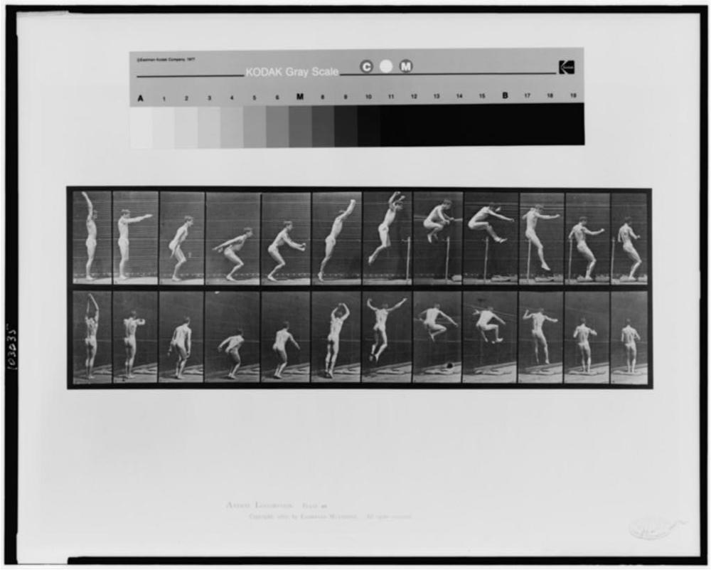 © Edweard Muybridge. Courtesy of the Library of Congress