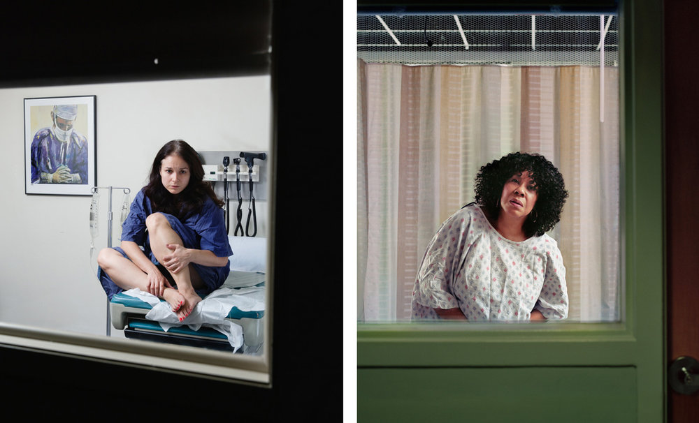 """Lori"" and ""Willie Anne"" from the series Bedside Manner Courtesy of Corinne May Botz & Benrubi Gallery"
