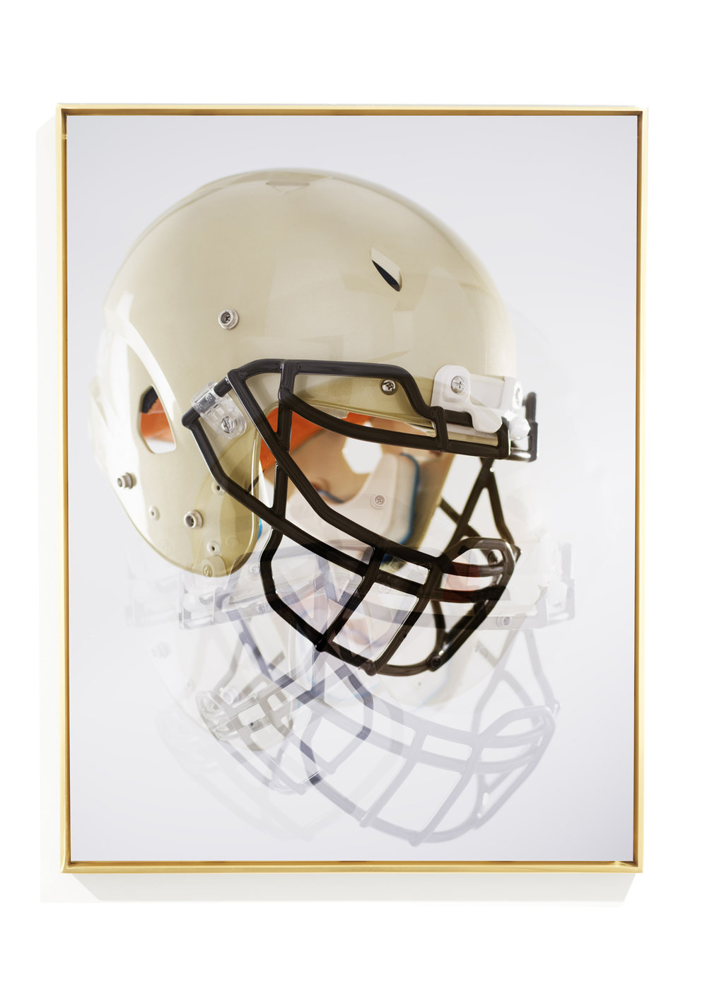Gold Helmet ©  Joseph Desler Costa