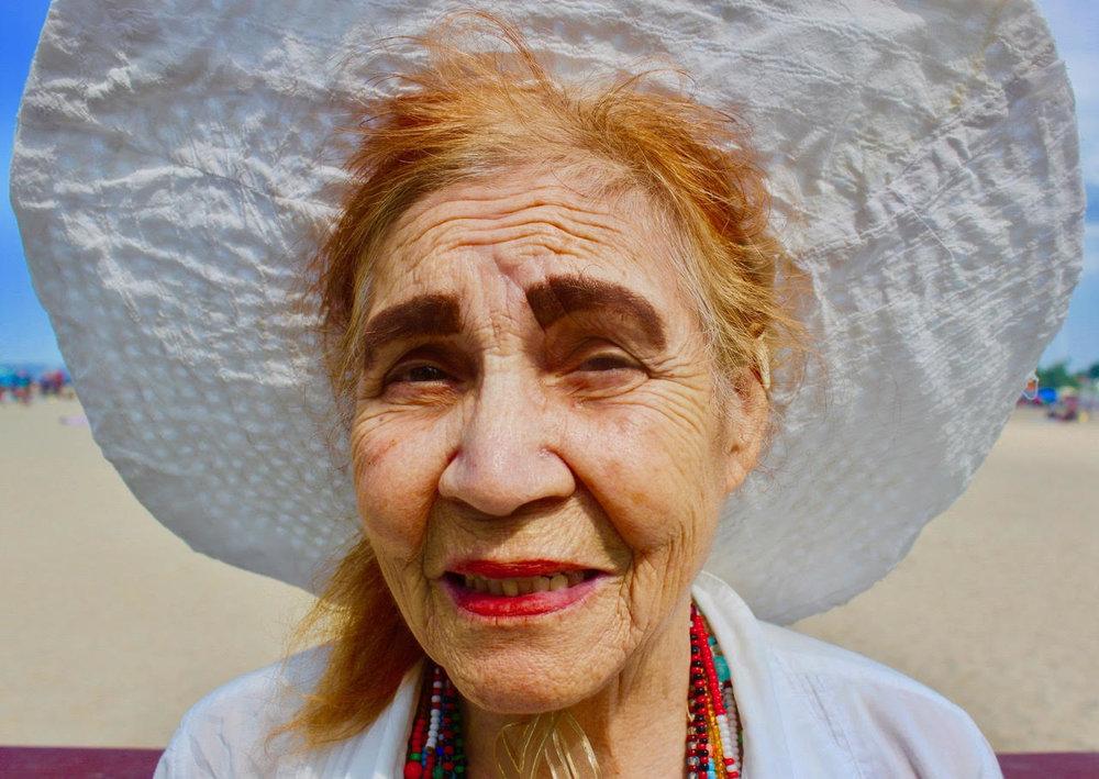 Carmen Coming Home, 2017. Orchard Beach, Bronx NYC. © Ruben Natal-San Miguel