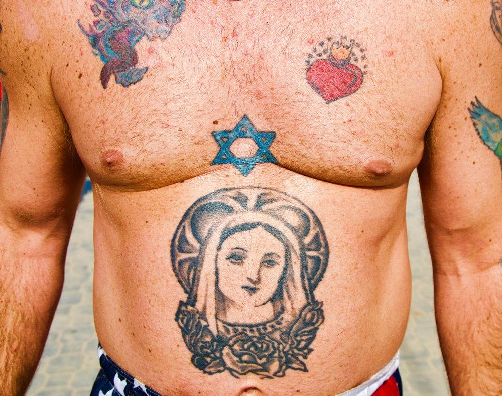 Catholic Jew,2017 Coney Island, Brooklyn, NYC. © Ruben Natal-San Miguel