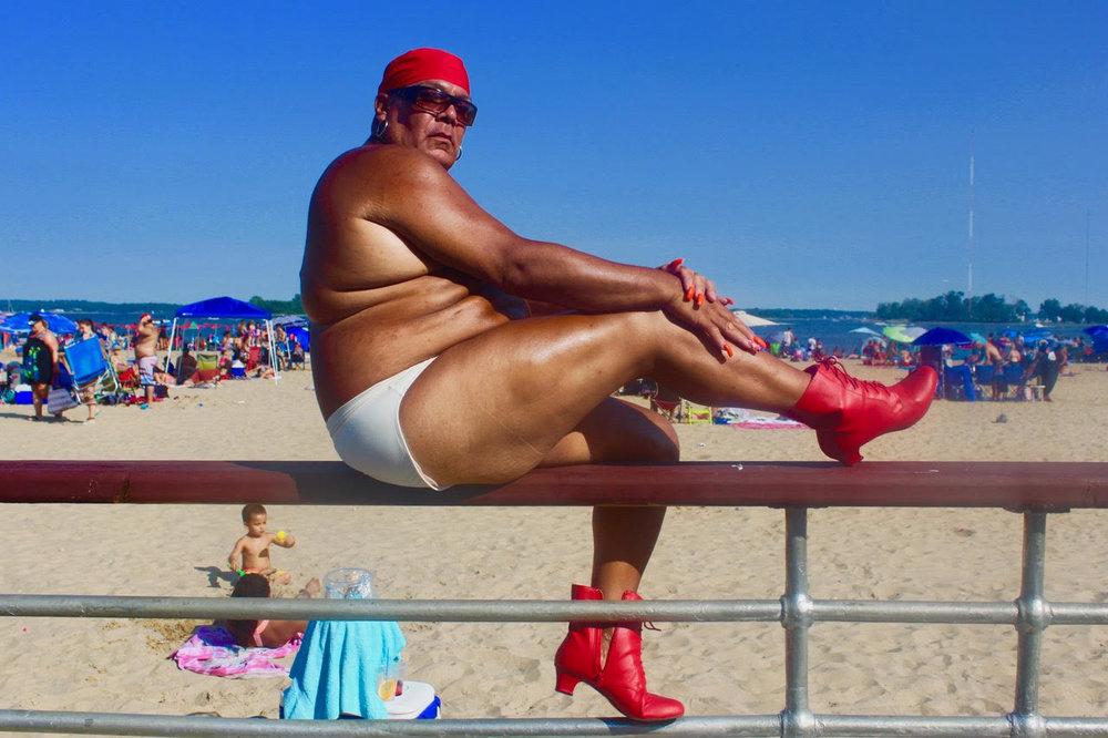 July on July, Gender Fluid 2017 Orchard Beach BronxNYC. © Ruben Natal-San Miguel