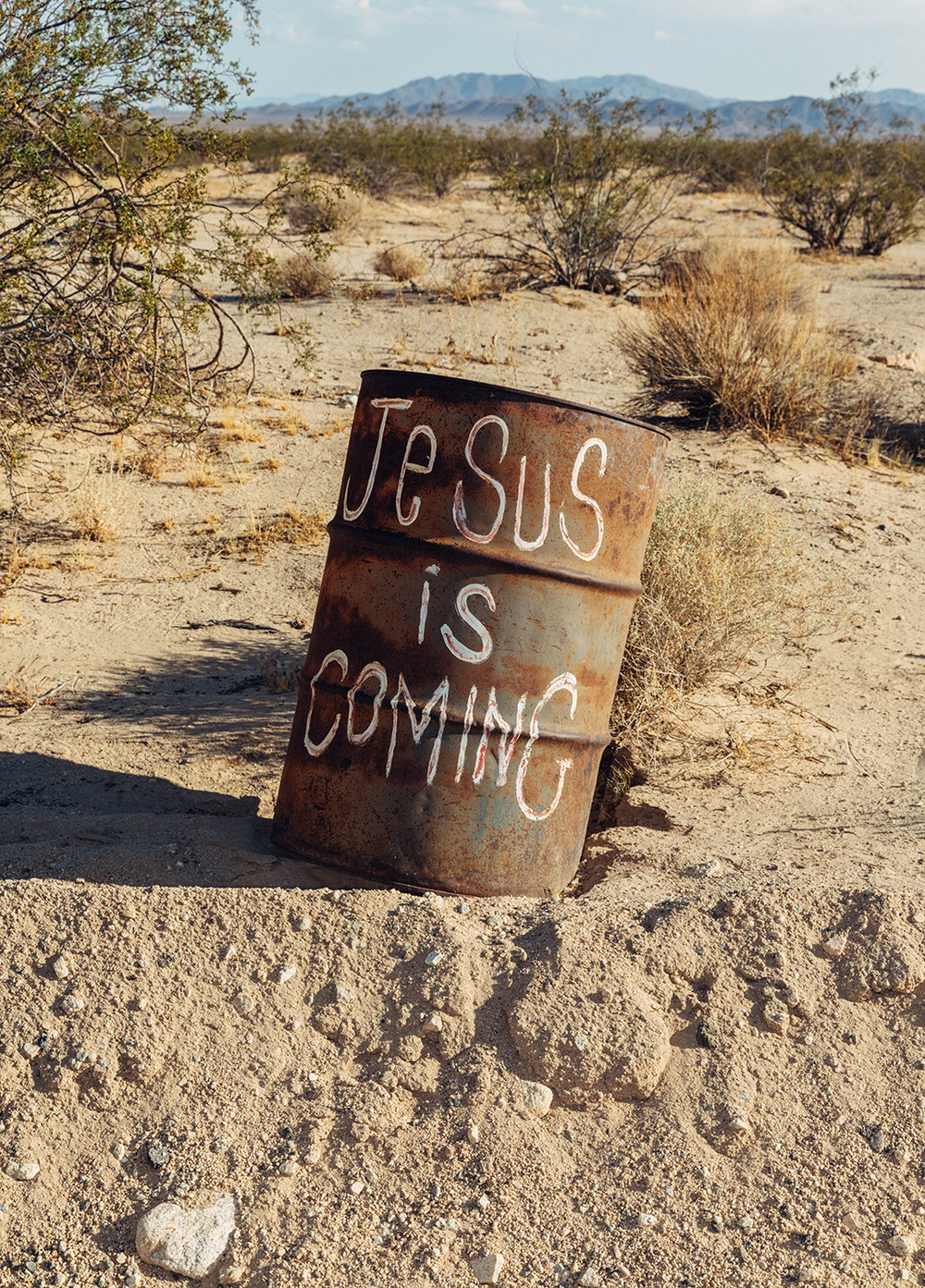 """Jesus Is Coming,"" Archival Metallic Inkjet Print, 19.75"" x 27.5"", 2017 © Mikayla Whitmore"