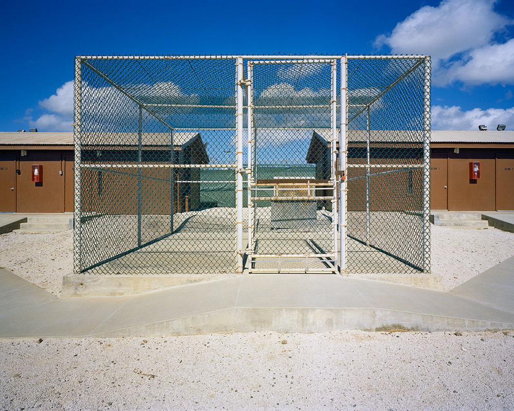 Recreation Pen, Camp Echo U.S. Naval Station Guantánamo Bay, Cuba (2015) © Debi Cornwall